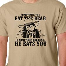 Big Lebowski T-shirt - a veces que te comas el Oso (bar) citan Película De Culto Coen