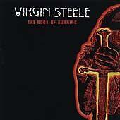 Virgin Steele - Book of Burning CD 2002 NEW SEALED