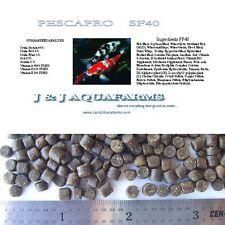 SF40 40% 3 lb Health & Growth Sinking pellet cichlid pacu tropical fish food