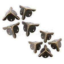 4/12/20PCS 18mm Antique Corner Decorative Wooden Box Case Angle Protectors Cover