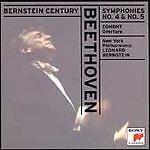 "Beethoven: Symphony No. 4 & No. 5: ""Egmont"" Overture; Leonard Bernstein 1997 CD,"