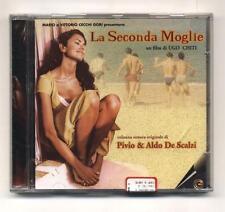 Cd LA SECONDA MOGLIE Pivio & Aldo De Scalzi Colonna sonora OST NUOVO 1998