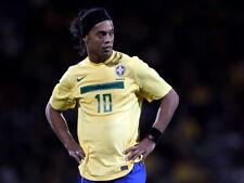 Ronaldinho Brazil Ronaldo de Assis Moreira Soccer Huge Print POSTER Affiche