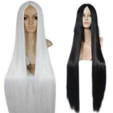 100Cm Harajuku Anime Cosplay Wigs Long Straight Hair Wig Party Cosplay Wigs