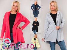 Sensible Women's Trench Coat Hooded Winter Jacket Top Color Size10-14 FT1258