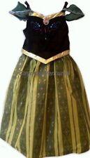 Disney Parks Frozen Princess Anna Coronation Dress Costume - Authentic New