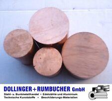 Kupfer Rund Rundstange Cu-ETP Ø 22 mm **Länge bitte auswählen**