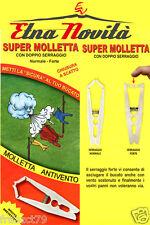 SUPER MOLLETTE ANTIVENTO DOPPIO SERRAGGIO NORMALE FORTE LENZUOLA BUCATO PANNI