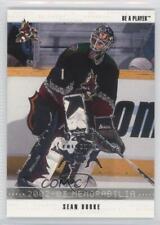 2002-03 In the Game Be A Player Memorabilia Fall Expo 110 Sean Burke Hockey Card