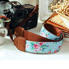 4cm Wide Vintage Camera Shoulder Strap Neck Belt Canon Nikon Sony Pentax DSLR
