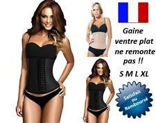 LOT 1 OU 2 GAINES VENTRE PLAT FEMME CORSET AMINCISSANT SERRE TAILLE S M L XL