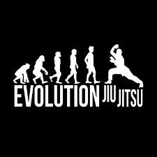 Évolution De Jiu-Jitsu T-Shirt * Arts martiaux * DAN * MMA * Judo * * CADEAU * envoi gratuit
