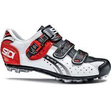 Sidi Men's Dominator Fit MTB Shoes White / Black / Red