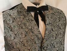 Scully Rangewear Men's Cheyenne Grey Paisley Western Vest(S-4X/Talls)
