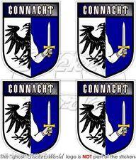 CONNACHT Provinz IRLAND Schild Irische Vinyl Sticker Aufkleber 50mm x4