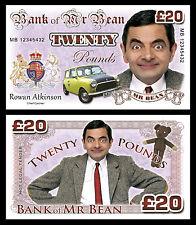 MR BEAN banconote di fantasia