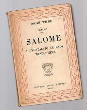 oscar wilde - salome-il ventaglio di lady windermere
