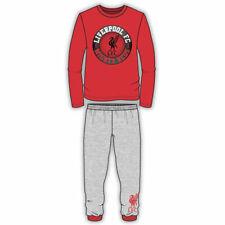 Liverpool Boys Football Club Pyjama Set Pjs Age 4 -12 Years