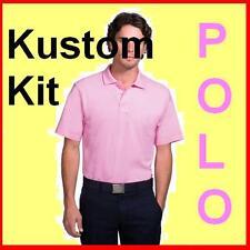Mens Pink cotton polo shirt Kustom Kit NEW  S/M/L, IDEAL XMAS GIFT