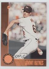 1996 Leaf Bronze #189 Jimmy Haynes Baltimore Orioles Baseball Card