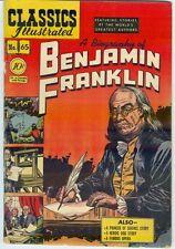 Classic Illustrated #65 Benjamin Franklin – 1st print
