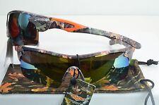 VERTX Premium Sport REAL CAMO Sunglasses New Wrap Around 56080 REAL CAMO