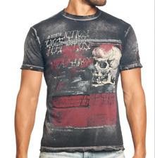 Affliction LIVING TOXIC A8042 Men's Short Sleeve T-shirt Tee Black