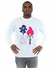 DC Comics Men's Teen Titans Go Girls Night Sweatshirt