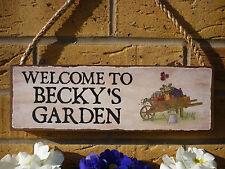 GIARDINO personalizzata segno positivo segno giardinieri segno GIARDINAGGIO segno FIORI LAMPADINA