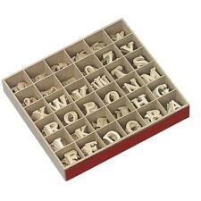 Holz-Buchstaben, 4cm, naturbelassen