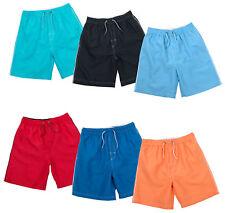 Boys Swim Shorts Holiday Beach Board Shorts Swimming Trunks Swimwear Mesh Lined