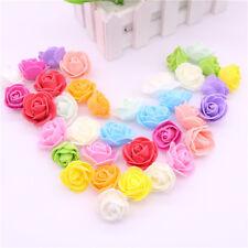 MINI Foam 3cm ROSE-matrimonio artigianale floreale Partito Decorazione favore - 10 colori