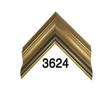"Custom Picture Frame | Speckled Gold 2 3/4"" | Great for Large Artwork"