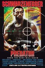 PREDATOR MOVIE POSTER FILM A4 A3 ART PRINT CINEMA