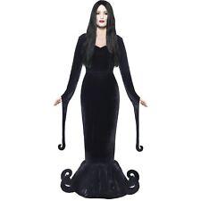 Halloween Morticia Duchess Of The Manor Womens Ladies Fancy Dress Costume