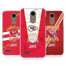 OFFICIAL NFL 2019/20 KANSAS CITY CHIEFS HARD BACK CASE FOR LG PHONES 1