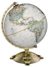 "Replogle Allanson National Geographic World Globe 12"" Antique. Brand New!"