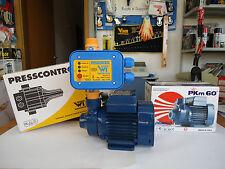 Kit Autoclave Elettropompa Pedrollo + presscontrol regolatore di pressione 1,5b