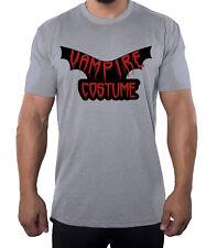 Vampire Costume Text shirt, Men's Graphic Tees, Funny Halloween Men's Shirts!