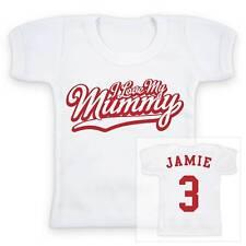 I love my mummy personnalisé bébé / enfant t-shirt