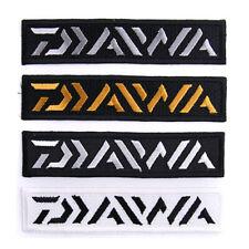 "The Daiwa Clothes Patch 4.3"" Emblem Fishing Logo Badge 4 Colors For Shirts Cap"