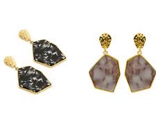 Fashion Resin Geometric Brown Tortoise Shell Earrings Jewelry Wedding Women Gift
