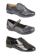 Jazz Girls School Formal Black Lace Shoes Sizes 10-3