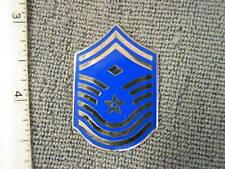 Obsolete 1970 - 1994 USAF issue Chief Master Sergeant with diamond chevron