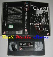 VHS THE CLASH West way to the world 1999 SMV 200953 2 (*) cd mc dvd lp(VM1)