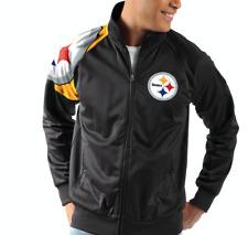 Pittsburgh Steelers G-III Sports INTERCEPTION Full-Zip NFL Track Jacket