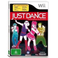 JUST DANCE Nintendo Wii + Wii U RARE AUSSIE BRAND NEW dancing game party 4 stage