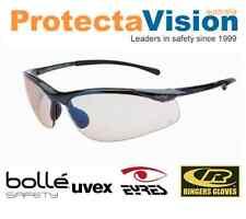 Bolle SIDEWINDER Polarised/Bronze/ESP/Amber/Smoke/Clear Safety Sunglasses