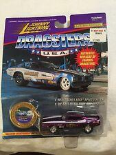 Johnny Lightning Dragsters Model Cars - Various Designs