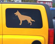 Schäferhund Aufkleber Autoaufkleber Sticker  25 Farben 7 Größen